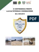 Plan de Contingencia Lluvias e Inundaciones 2015 (2)