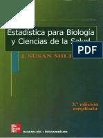 Estadistica Para Biologia y Ciencias de La Salud 3a Ed