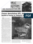 Historic Irvington Newsletter - 2015 Winter