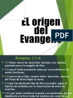 El Origen Del Evangelio