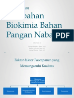 [Presentasi] Kimia Pangan - Biokimia Bahan Pangan Nabati