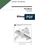 Great Plains Parts Manual NTA-907 & NTA-3007