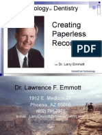 The Future in Dentistry is Digital and a Paperless Records Dental Office