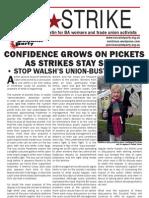 airSTRIKE Bulletin 6 www.socialistparty.org.uk