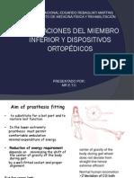 Evidencias Protesis en Amputados