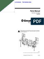 Great Plains Parts Manual Sub-Soiler Inline Ripper