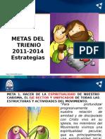Metas del Trienio FEF 2011-2014