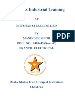 Industrial File on Bhushan Steel