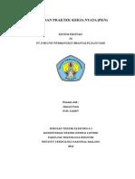 Laporan PKN PLTA Sutami 2014
