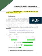 Determinaciones Volumetricas y Gravimetricas