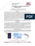 Optimum Operation of Direct Coupled Photovoltaic-Water Pumping Systems