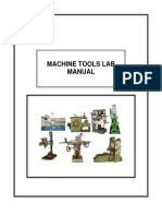 Machine Tools Lab-gudlavalleru