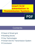 Smart Grid in Transmission