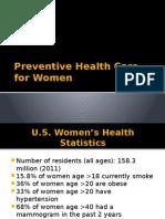 preventivehealthcareforwomenppt-140414103649-phpapp02