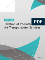 Taxation of International Air Transportation Services Website