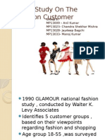 The Fashion Customer _Grp 03