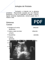 patologias de prostata
