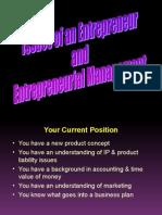 1. Entrepreneurship