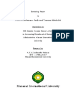 Financial Performance Analysis of Transcom Group