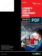 A Parents Guide to P Plate Driving