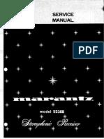 Marantz Service Manual 2238b