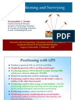 Gps Positioning and Surveying