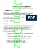 Informe Ensayo Metalografico