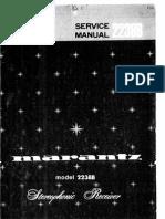 Marantz 2238B Service Manual Original