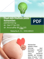 Mual Dan Muntah Pada Kehamilan