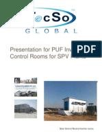 Presentation-Prefab (Solar Inverter-Control Room