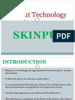 Skinput Technology