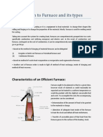 Introduction to Furnace and Its Types