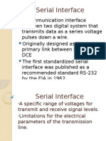 Serial Interface