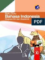 Kelas 11 SMA Bahasa Indonesia Guru