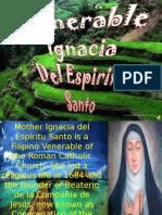 Venerable Ignacia Del Espiritu Santo
