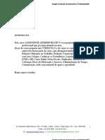 Apostila Aux. Administrativo-2008