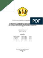 PROPOSAL PKM Kelompok 5 Teknologi Pengolahan Sayur Dan Buah