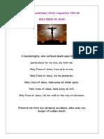 Prayer Found in Sepulchre