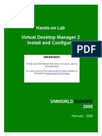 LAB09_VMware Virtual Desktop Manager and VDI