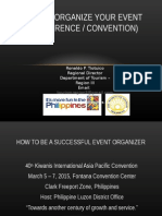 How to Organize a Convention.ppt
