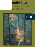 Pershing 1a Field Service Data Notebook