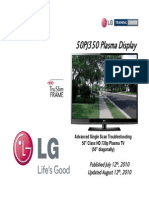 Lg 50pj350 Training Manual