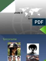 Terrorism e