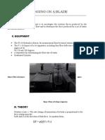 Fluids Mechanics Laboratory Experiment 1