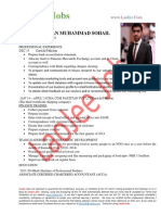 ABDUR REHMAN MUHAMMAD SOHAIL Finance-Business Development Officer