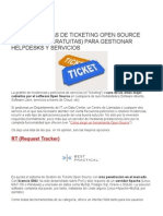 8 Herramientas de Ticketing Open Source (Totalmente Gratuitas) Para Gestionar Helpdesks y Servicios