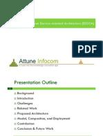 Event-Driven Service-oriented Architecture (EDSOA)