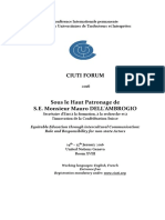 Final Program CIUTI FORUM 2016