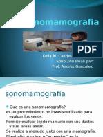 presentacion de sonomamografia 240 clase diaria