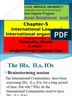IR Ch 5 International Law
